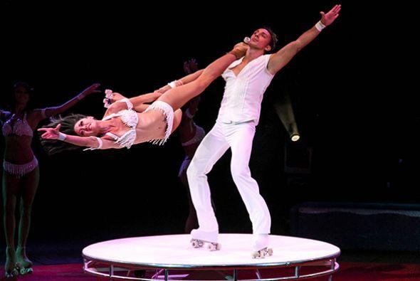 La diversión no para en el Circo y esta vez, Raul Brindis hizo algunas p...