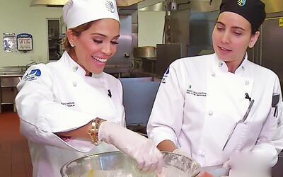 Karla Martínez cumplió su sueño de ser chef profesional y mira lo que pr...
