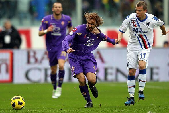 Poco hubo que disfrutar en el duelo Fiorentina vs. Sampdoria.