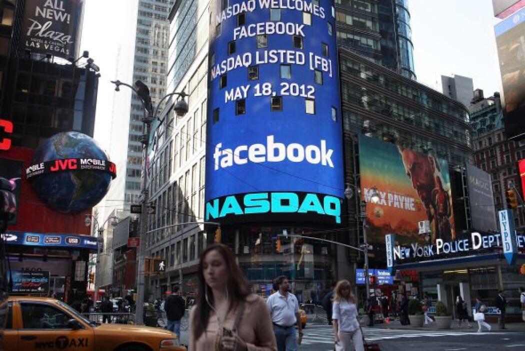 """1. FACEBOOK ENTR"""" A LA BOLSA- El 18 de mayo la conocida red social comen..."""