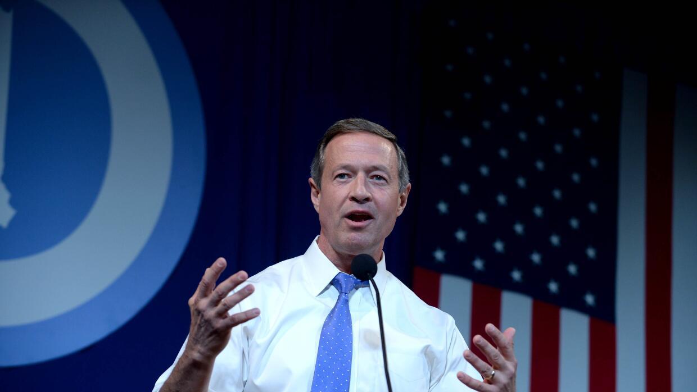 Martin O'Malley: Podemos proteger nuestra nación y vivir los valores que...
