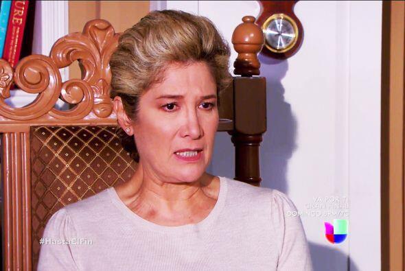 Ahora visitaste a doña Greta para exigirle que Alexa se aleje de Armando.