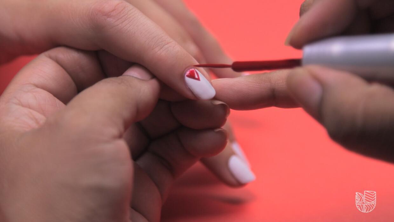 Nail Art 4 de Julio (opción 1)