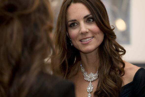 Esta es la segunda vez que Middleton elige ese vestido para una aparici&...