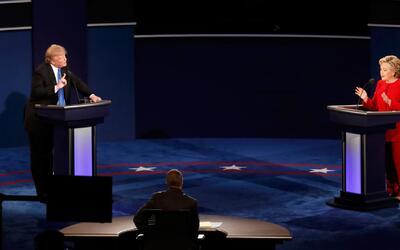 Trump y Clinton mintieron durante el Debate Presidencial