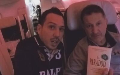Así llegó Juan Carlos Osorio a Rusia para el sorteo de la Copa Confedera...