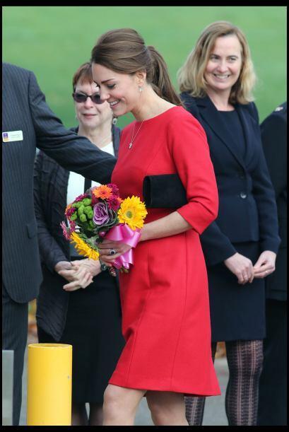 Kate se ha convertido en una mujer muy querida por la gente.