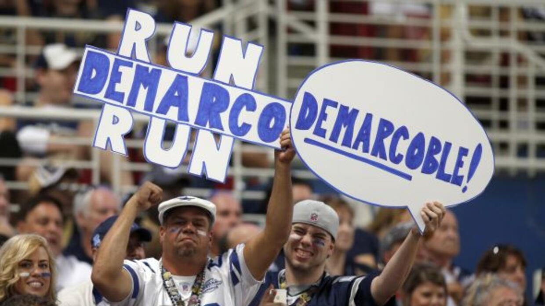 La marca de los Cowboys de 5-1 tiene felices a sus fans (AP-NFL).