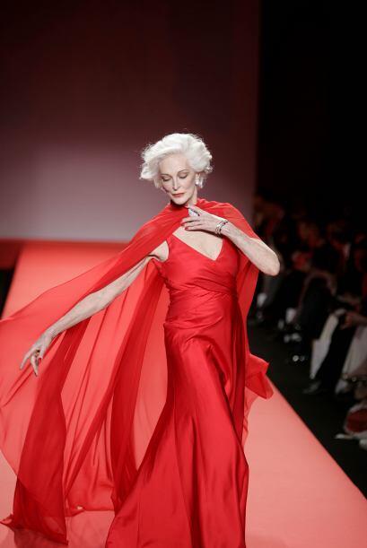 Otra mujer que llegó a romper cualquier tipo de esquema fue a supermodel...