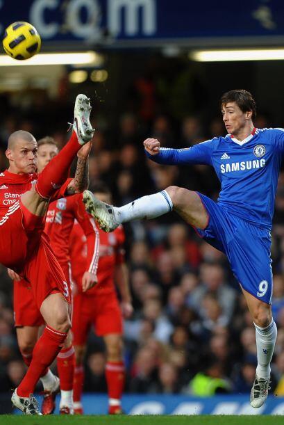 Torres tuvo algunas oportunidades para marcar contra sus viejos conocido...