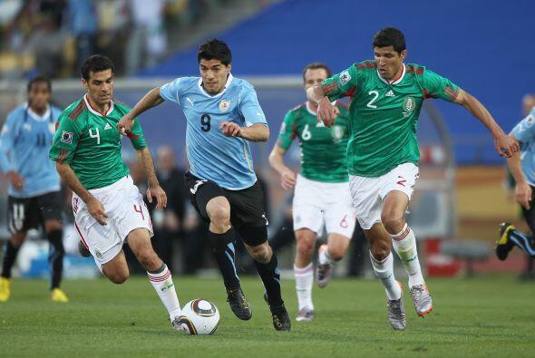 La selección uruguaya derrotó a México un gol por c...