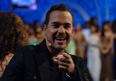 A la hora del 'show', Carlitos mostró su carisma y sencillez.