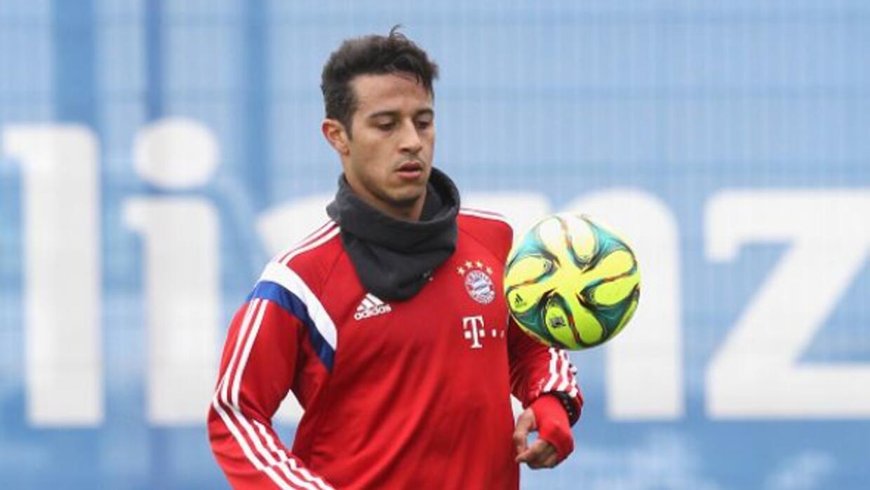 El volante español está de vuelta con el Bayern tras sus problemas de ro...