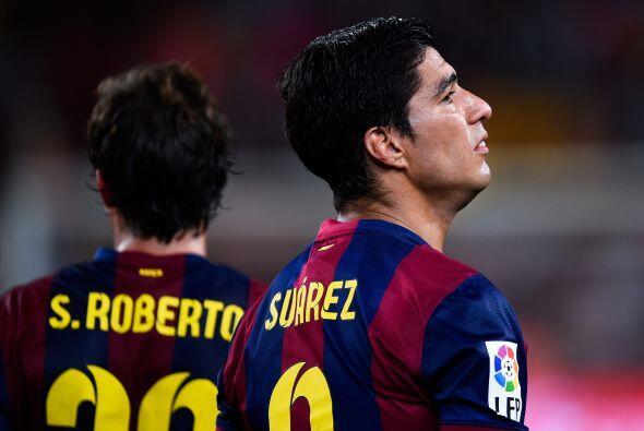 Suárez se veía bastante serio.