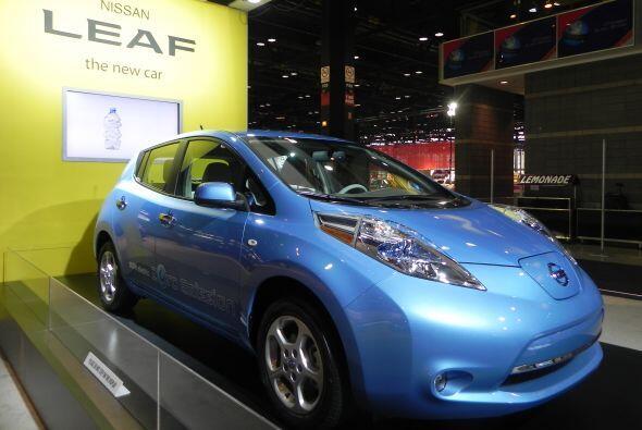 El Nissan LEAF salió a la venta en Estados Unidos a finales del 2010 com...