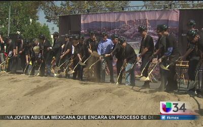 Inauguran construcción de nuevo estadio de futbol en LA