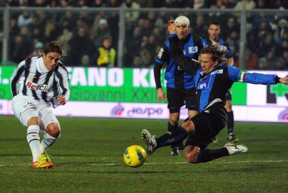 El segundo tanto fue de Emanuele Giaccherini. La 'Juve' ganó 2 a 0.