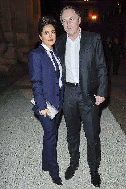 Tanto Salma como su marido, el francés Francois-Henri Pinault, decidiero...