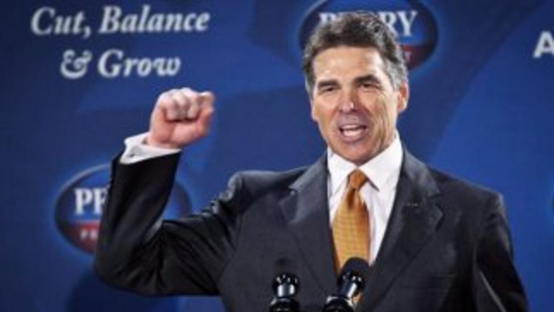 El gobernador de Texas Rick Perry propuso un nuevo plan económico en su...