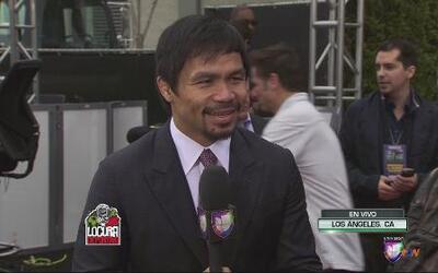 """Manny Pacquiao: """"Puedo vencer fácilmente a Mayweather Jr."""""""