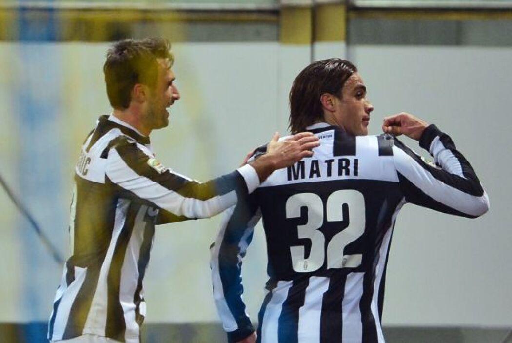 Los dos tantos de Matri resultaron factor decisivo y la 'Juve' venció 3-...