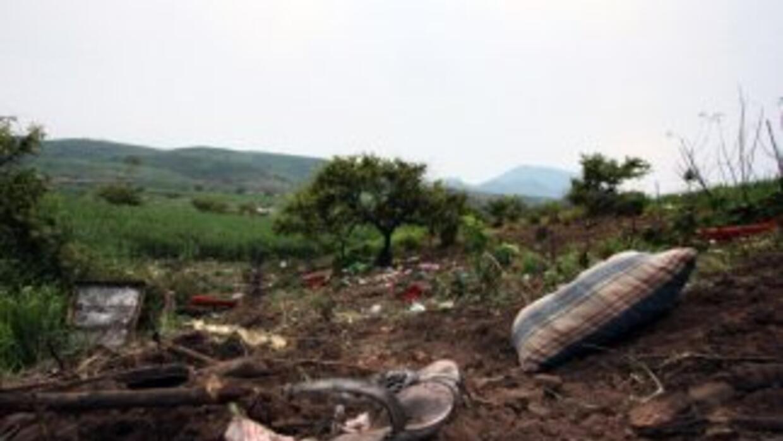 Un accidente automovilístico se registró en una carretera del norte de M...