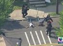 Newark se convirtió en zona de guerra por unas horas
