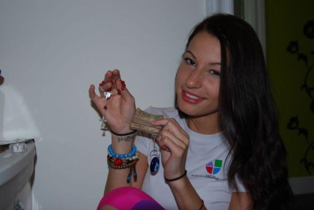 Nastassja siempre llevó con ella los amuletos de su suerte: el primero e...