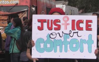 Arizona también participó en la multitudinaria marcha por las mujeres