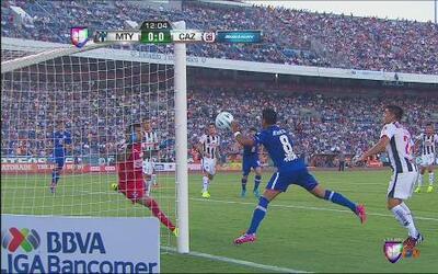 Monterrey vs Cruz Azul: Gol anulado a los cementeros por mano de Marco F...