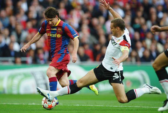 Barcelona no se relajó y mantenía la posesión del b...
