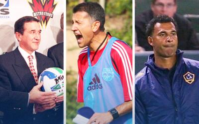 Parreira, Osorio y Gullit pasaron por la Major League Soccer en diferent...