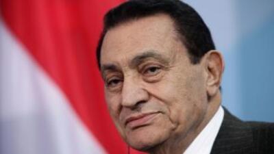 Hosni Mubarak, presidente de Egipto