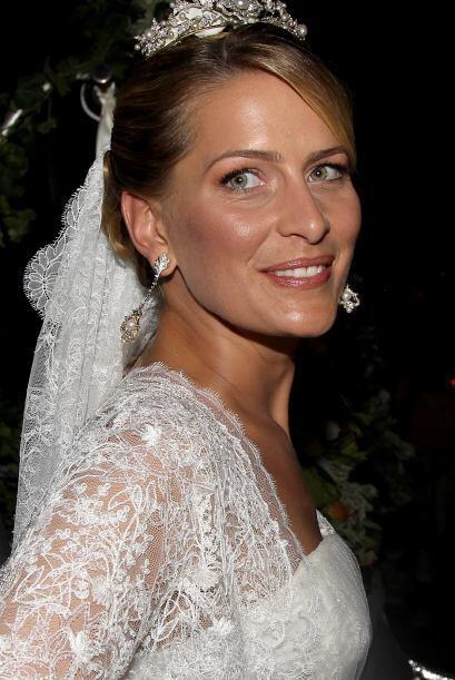 Tatiana Blatnik, casada con Nicolás de Grecia, lució divin...