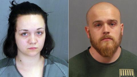 Cheyenne Cook y Richard Gamache Jr, detenidos por la muerte da la hija d...