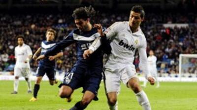 Real Madrid y Málaga se enfrentan en la Liga.