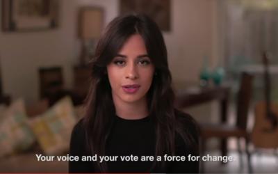 Camila Cabello, de Fifth Harmony, votará por los derechos de los...
