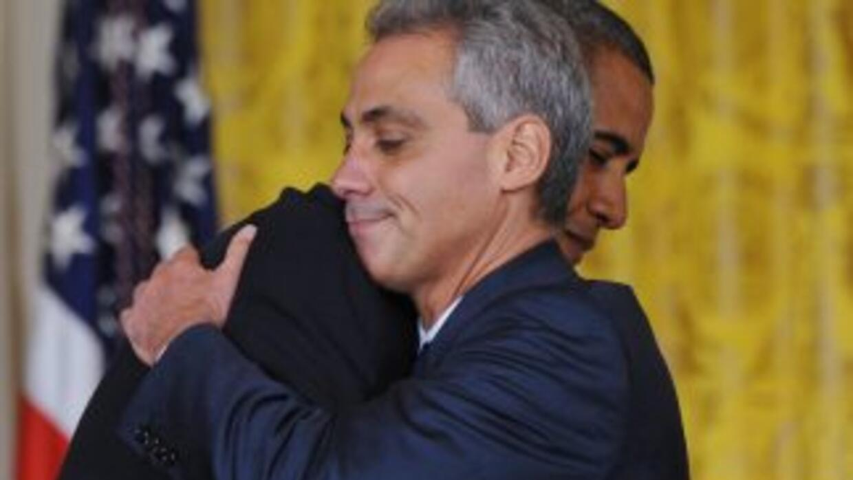 El jefe de Gabinete de la Casa Blanca, Rahm Emanuel, uno de los principa...