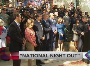 Inauguran National Night Out en San Antonio