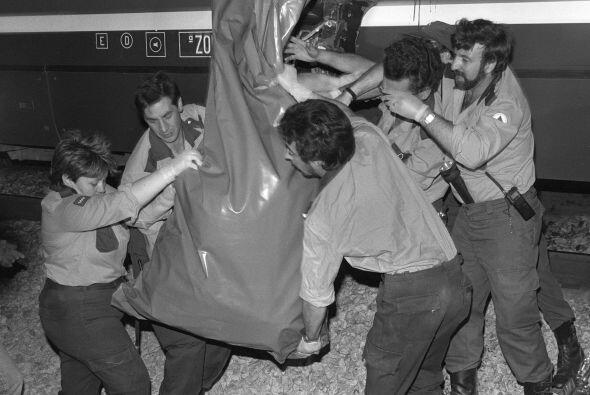 Un total de 17 muertos se registraron en 1980 tras un choque frontal ent...