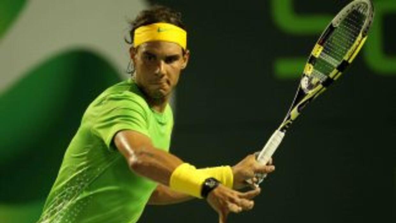 Rafael Nadal, número uno del mundo, parece encaminarse a otra final.