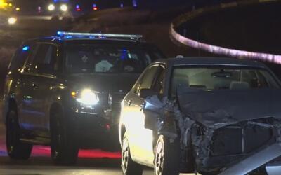 Conductora ebria choca contra patrulla que atendía emergencia en la Auto...