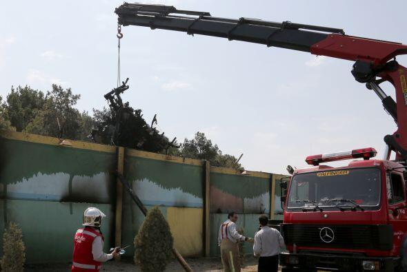 El aparato es un Antonov-140 de fabricación iraní (conocid...