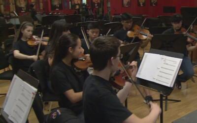 Miembros de la Orquesta Juvenil de Houston participarán en la inauguraci...