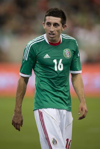 En el caso de Herrera el jugador comenzó su andar con el equipo mexicano...