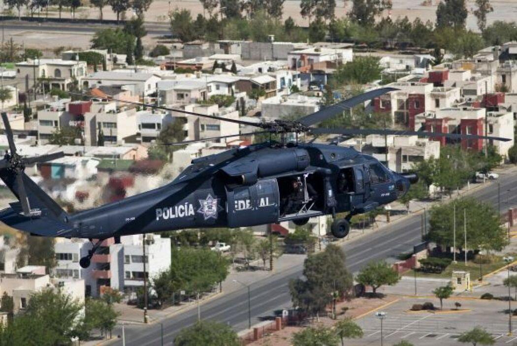 El ejército mexicano ha intensificado su batalla contra los carteles de...