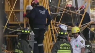Se derrumba edificio en la Ciudad de México