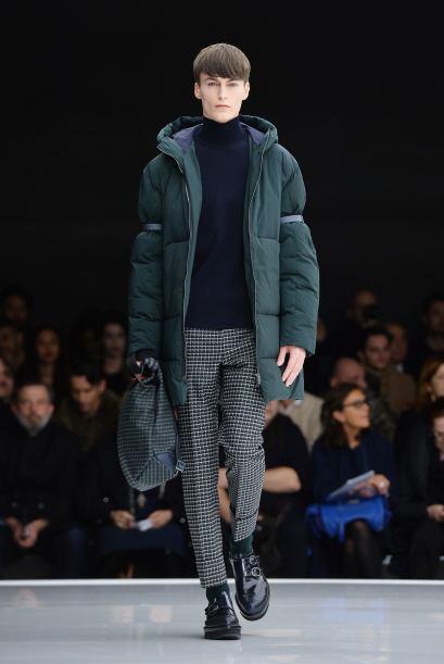 Otra de las colecciones que brilló durante la Semana de la Moda de Milán...