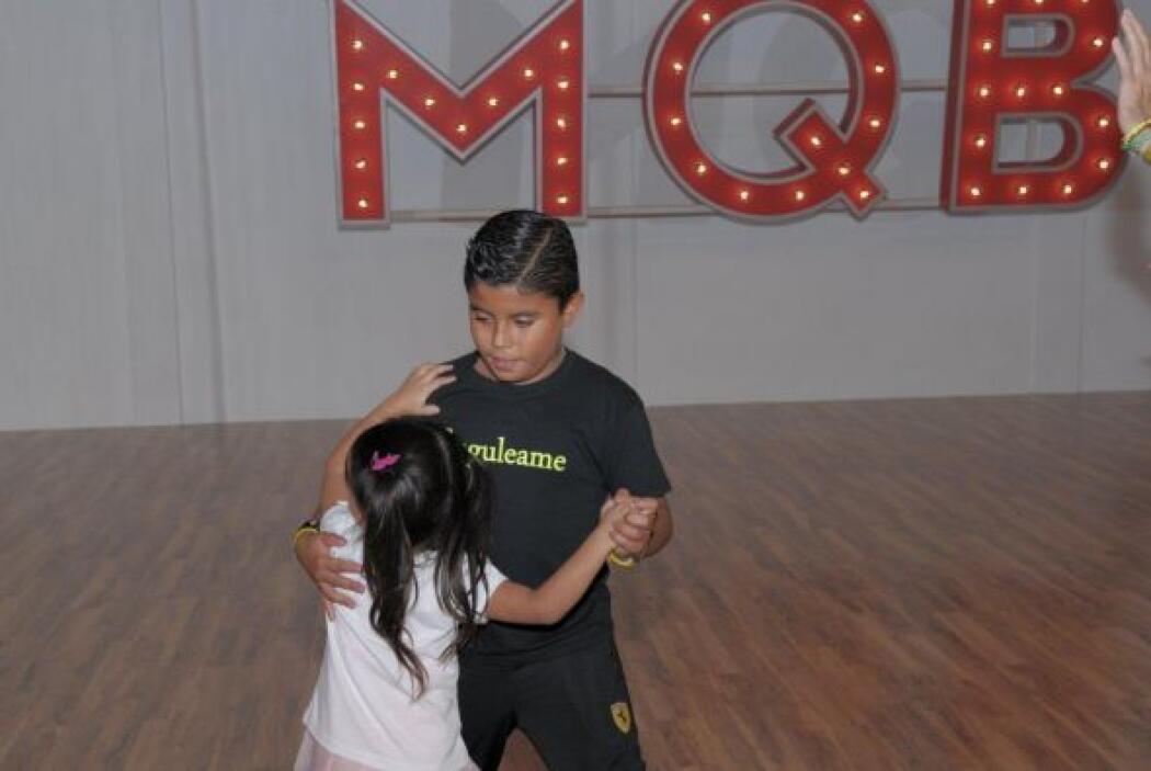 ¿Recuerdas cuando bailó en el escenario?