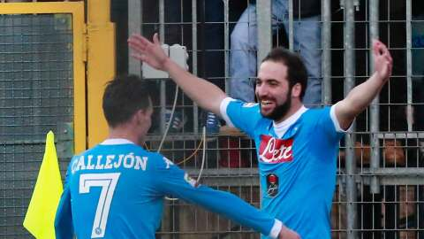 Nápoles es campeón de invierno en Serie A